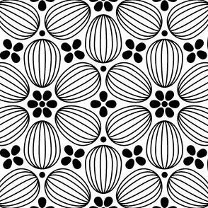 05192822 : ovoid 6 : black + white