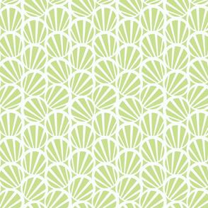 circles and stripes green