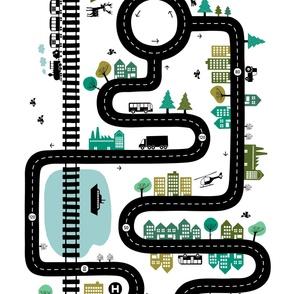 Road map 42''
