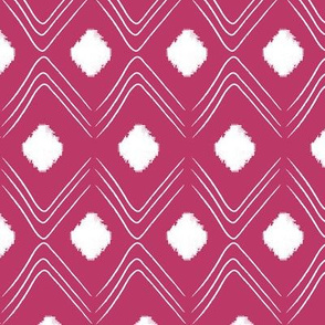 Diamond- Hot pink