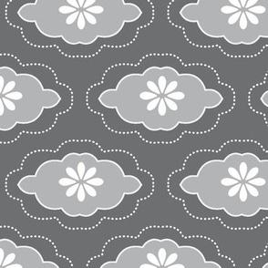 flowercloud grey