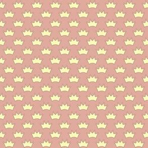 little crowns - terracotta