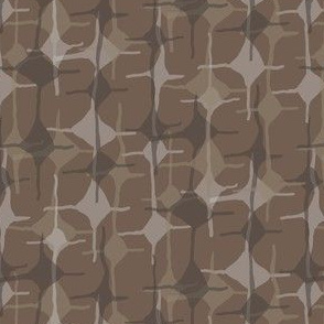 16-18Q Geometric Diamond Taupe Brown Chocolate Abstract Home Decor_Miss Chiff Designs