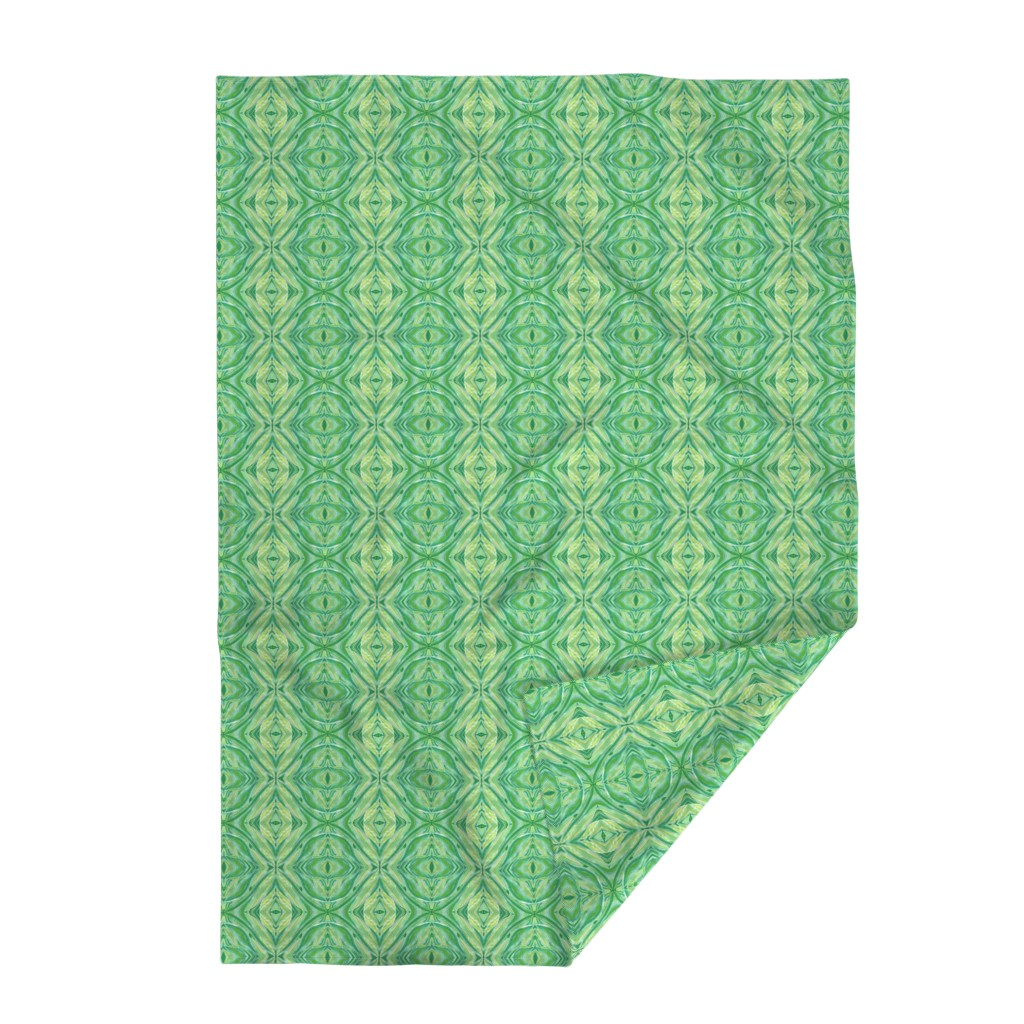 Lakenvelder Throw Blanket featuring Leaves_all_over_1-ed by ruthjohanna