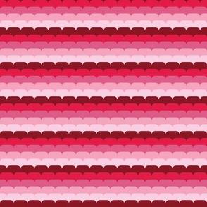 Raspberry Stripes