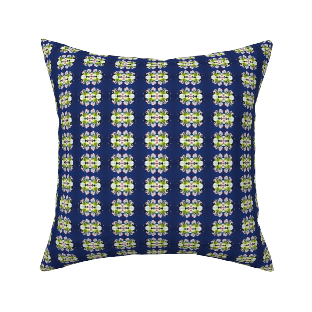 Catalan Throw Pillow featuring Water Drop Floral by snaphappyscientist