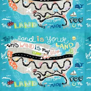 This Land Big Placemat