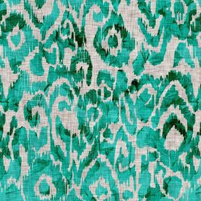 Ikat Turquoise