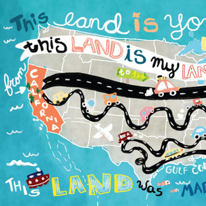 This Land Big Blanket - Fleece