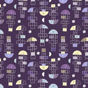 Hopscotch violet