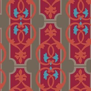 16-18P Home Decor Hearts Orange Turquoise Paris Taupe Red_Miss Chiff Designs