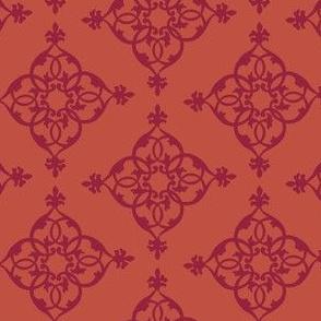 16-18M Heart Love Fall Pumpkin Orange Diamond Home Decor_Miss Chiff Designs