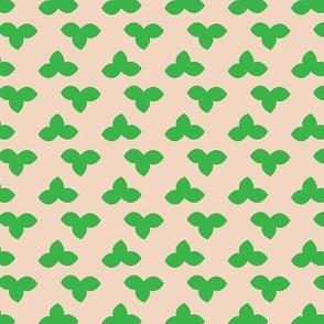 Leaf clover floral_Miss Chiff Designs