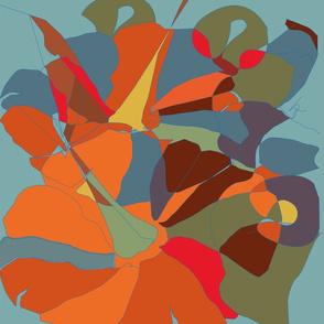 pumpkin abstract