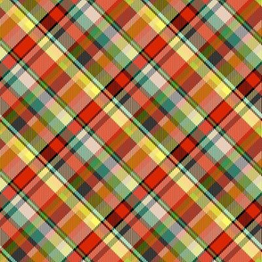 Mostly Red Madras Plaid