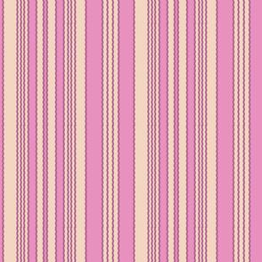 Cream and Lilac Stripe_Miss Chiff Designs
