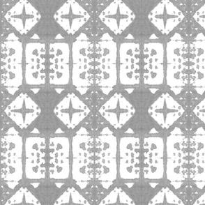 Shibori Windows - Grey