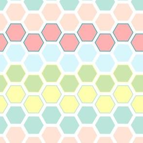 honeycomb chevron