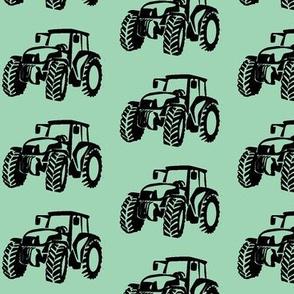 Tractors Mint/Black