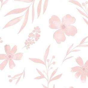 Sweet pink watercolors no 2
