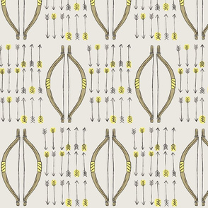 Bows & Arrows - Yellow