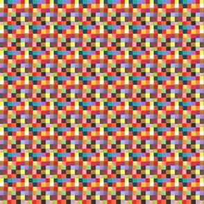 Picnic Baby -hand drawn color grid