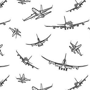 Plane Sketches // Small