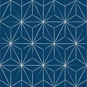 Sashiko - Blue Vertigo