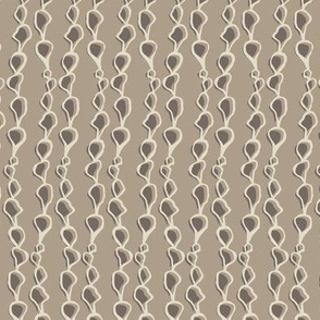 Seed chain in Taupe