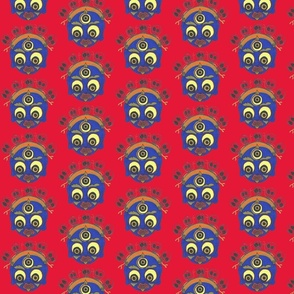 Tibetan Demon Mask-ch