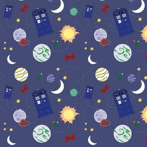 Time and Relative Dimension in Space Smaller Print