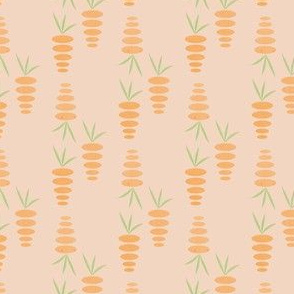 Easter Abstract carrots Vegetable Food_Miss Chiff Designs