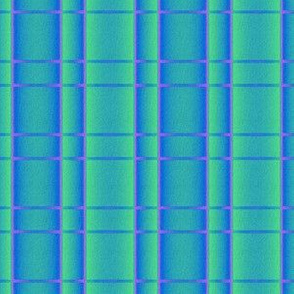 Blue Green Pink Plaid