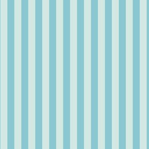 Aqua Blue Stripe