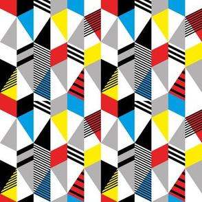 Geometric bauhaus style