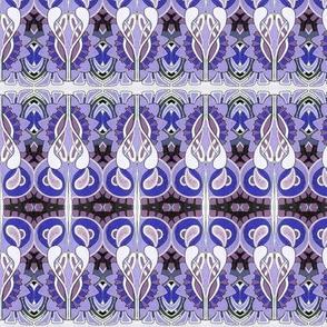 Be still my violet heart