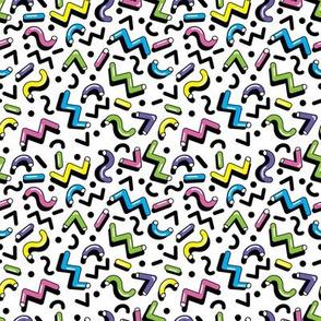 Fun retro geometric pattern