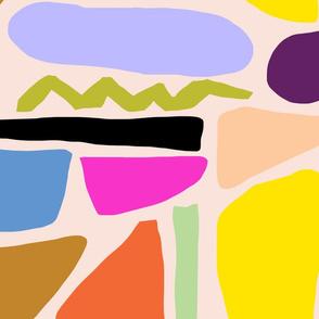 Abstract peach