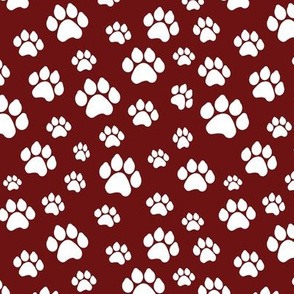 Doggy Paws - Maroon // Small
