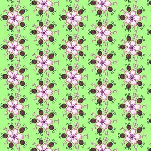 Green Sakura Ladybug