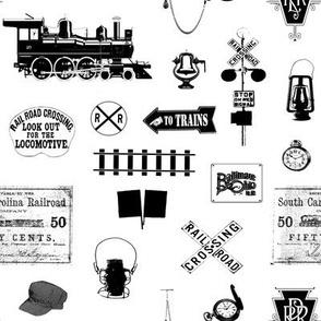 Railroad Symbols // Small