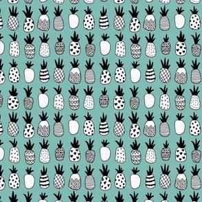 Trendy summer spring geometric pineapple fruit scandinavian style blue boys