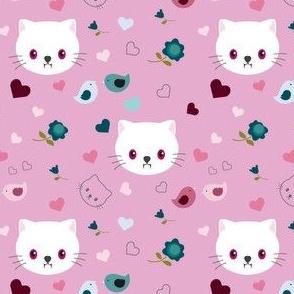 Vampire kitty - pink