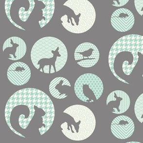 Animal Portait Grey
