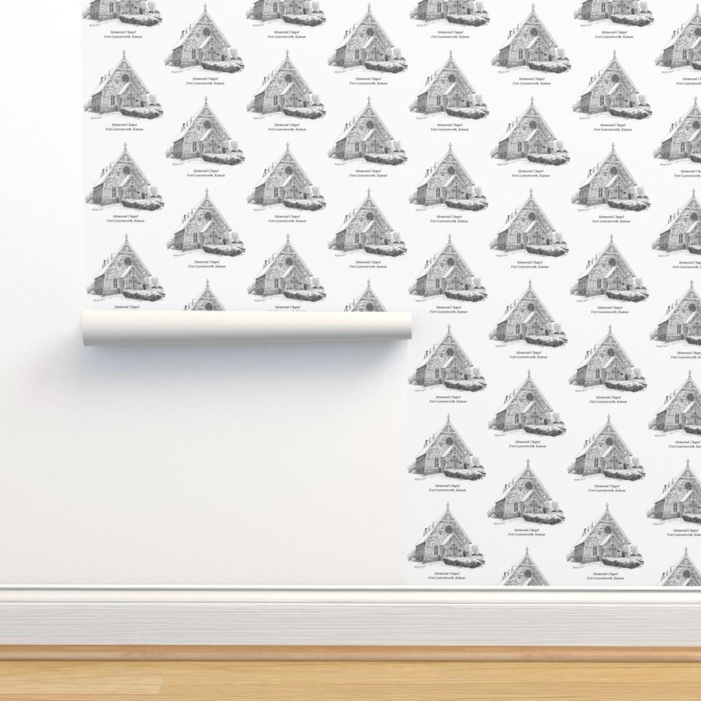 Isobar Durable Wallpaper featuring Memorial Chapel, Fort Leavenworth, KS by joan_lampkin