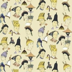 Small Asian Heads
