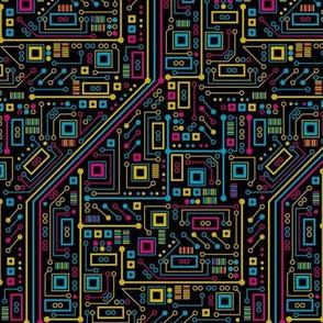 Short Circuit (Tri-color small)