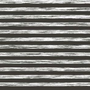 Stripes Grunge Pencil Charcoal  White & Black