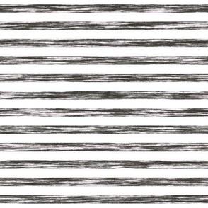 Stripes Grunge Pencil Charcoal  Black & White