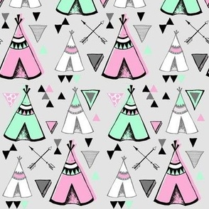 Teepee Town in Candy